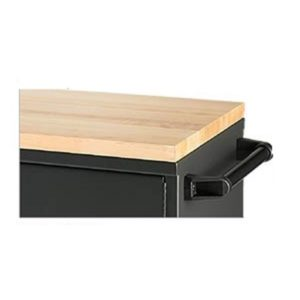 "Butcher Block Top - 48"" Mobile Work Bench Accessory"
